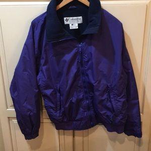 Vintage 90s Columbia fleece lined jacket